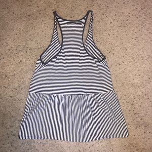 American Eagle Outfitters Tops - American Eagle Navy Blue and White Tank Top